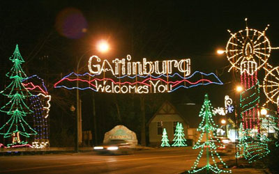 Gatlinburg Winter Magic Trolley Ride Of Lights