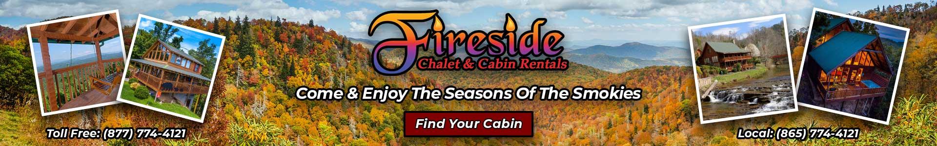Click to visit website: Fireside Chalets